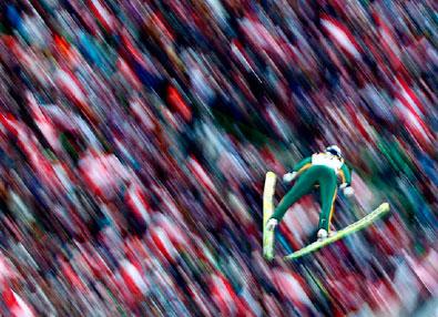 路透社2010年体育年度最佳图片