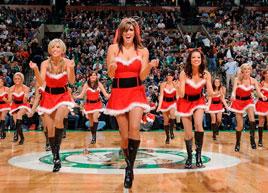 NBA宝贝圣诞节性感装扮大比拼