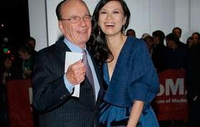 国际传媒大亨默多克提出与邓文迪离婚