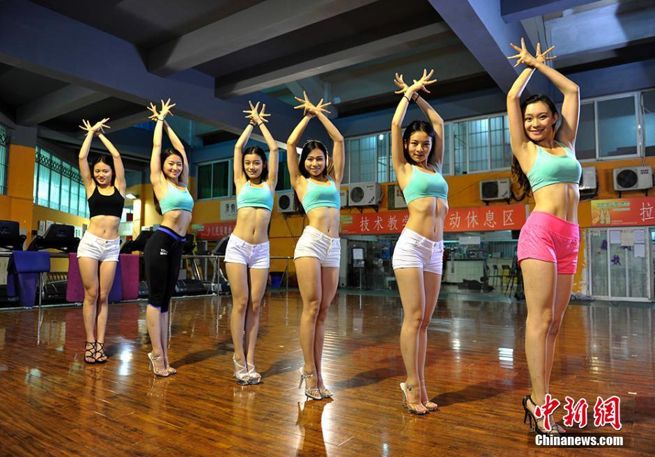探访出征前的国家女子健身集训队