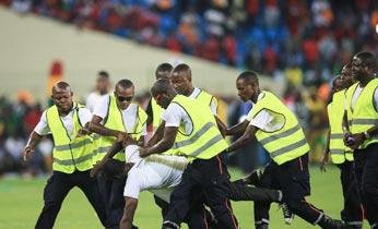 非洲杯半决赛发生球迷骚乱