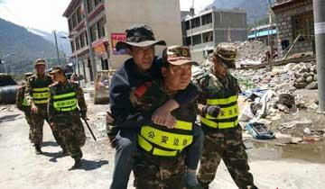 尼泊尔发生7.5级强震西藏吉隆震感明显