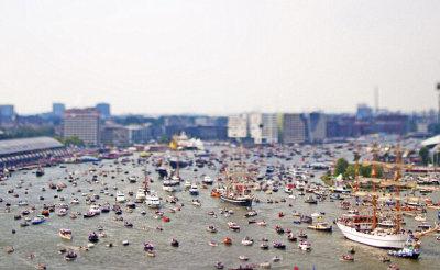 荷兰阿姆斯特丹帆船节开幕