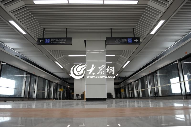 青岛地铁真的来了 3号线北段开始空载试运行