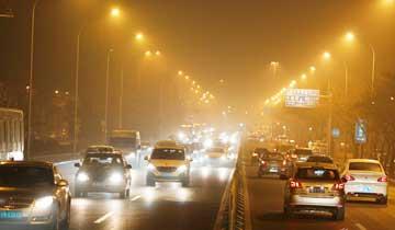 北京首发空气重污染红色预警