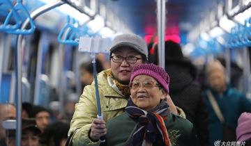 山东首条地铁开通 青岛进入地铁时代