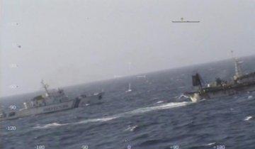 中国一渔船遭阿根廷海岸警卫队击沉