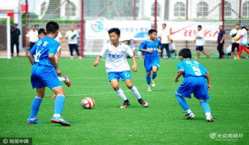 全国青少年校园足球夏令营青岛开营