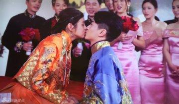 陈晓陈妍希大婚 深情一吻许终身