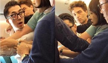 男子飞机上攻击空姐