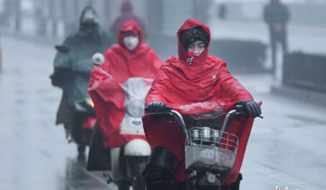 雨雪造访 济南最低气温将跌至-6℃