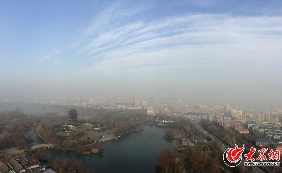头顶蓝天仍是中度污染 好天气还需再等等