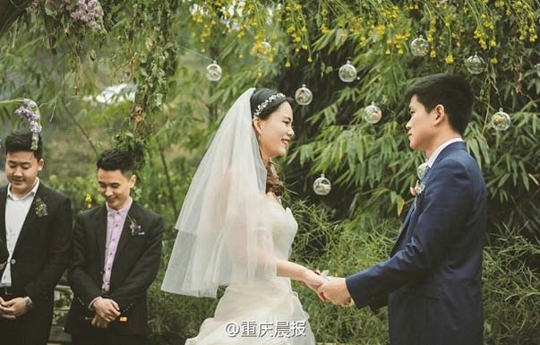 婚礼界的清流 农村小夫妻千元打造小清新风