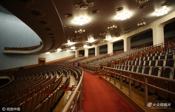 全国两会即将开幕 探访北京人民大会堂