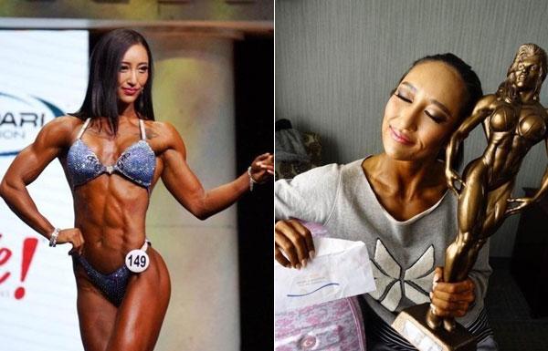 中国女子健美也出了世界冠军