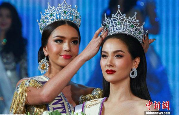 国际变性人选美大赛 泰国佳丽夺冠