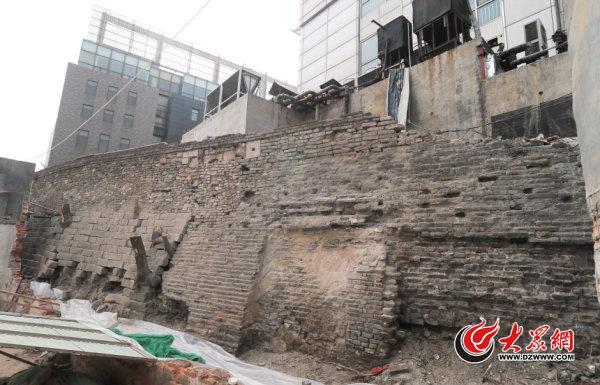济南600岁古城墙
