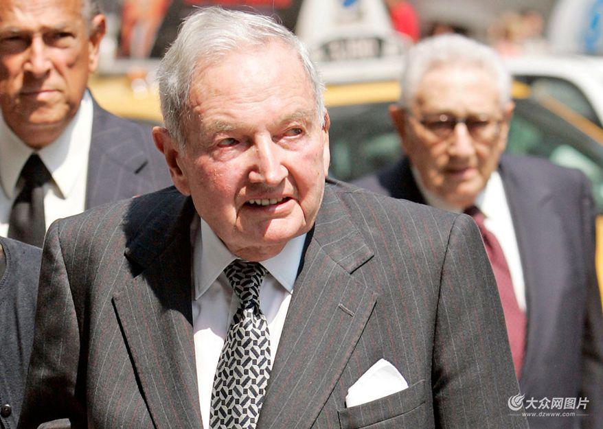 一代传奇落幕 美国亿万富豪洛克菲勒去世