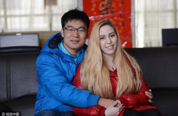 不图车和房 嫁给普通中国小伙的洋媳妇