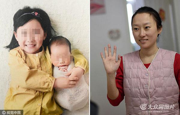 """青岛二宝妈妈患""""癌王"""" 流着泪给孩子喂奶"""