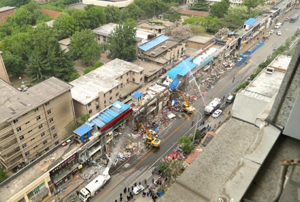 济南山师东路开拆,最著名的大学商业街成回忆