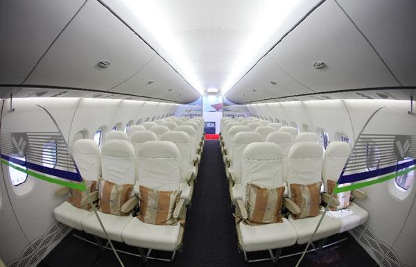 """国产大飞机C919计划5日首飞 内舱照片抢""""鲜""""看"""