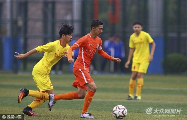 全国U15足球联赛 山东鲁能1-0广州恒大