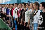 当地时间2017年9月11日,俄罗斯克拉斯诺达尔,克拉斯诺达尔高等军事航空学校的女学生开始她们的培训课程。