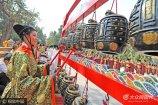 2017年9月28日上午,山东省曲阜市,纪念孔子诞辰2568年祭孔大典举行。