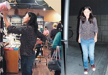 张柏芝怀胎4月首度曝光