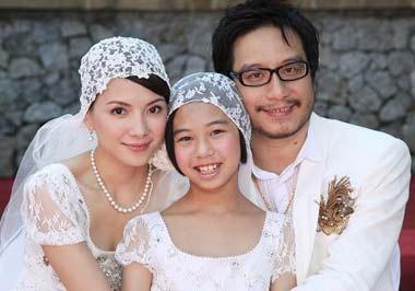 李心洁嫁彭顺当9岁女儿后妈