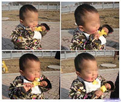 幼儿正确洗脸步骤图片