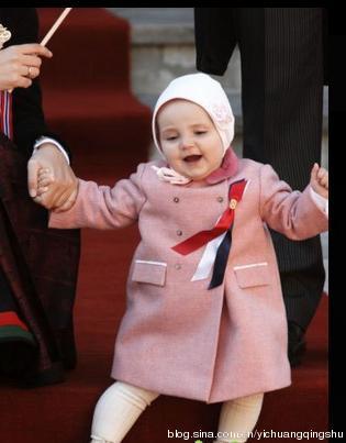 乔治王子领衔萌cry全球的皇室继承者们(图)