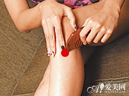 面棍按摩梳刮痧瘦腿消浮肿燃脂餐单图片