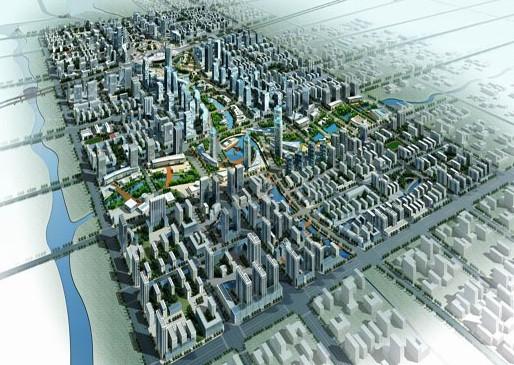 高铁站区城市设计