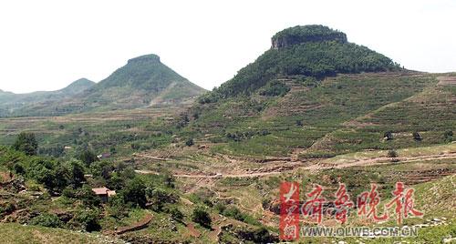 """目前,蒙阴县岱崮镇已经制定了详细的保护和开发规划,把""""岱崮地貌""""风景"""
