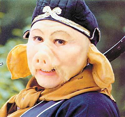 猪八戒的形象被越来越多的影视剧改编.