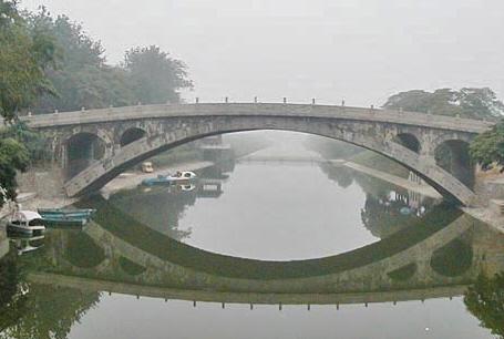 中国古建筑简笔画赵州桥