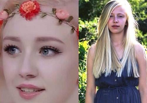 天天向上丹麦天使美哭宅男 奇丑素颜照被扒网友大赞化妆师技术高