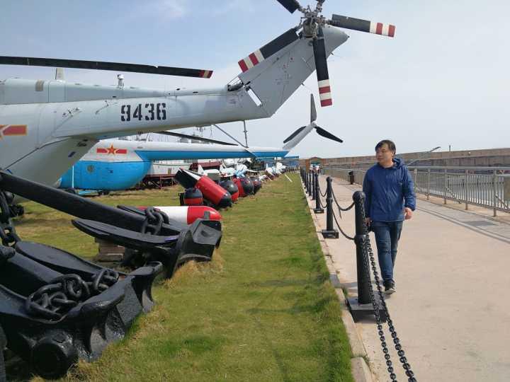 """打卡青岛网红海军博物馆!山东大V讲述中国海军的""""前世今生"""""""