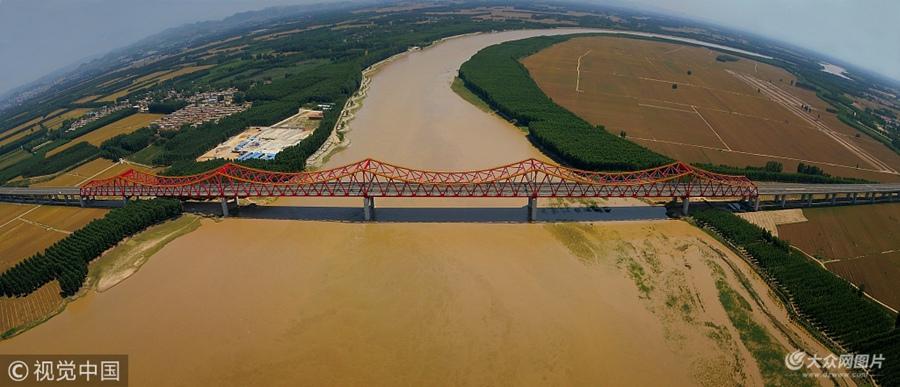 济南长清黄河大桥试通车 长清去齐河不到10分钟