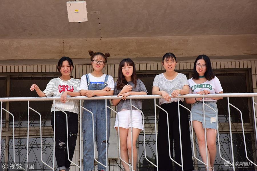 聊城大学学霸宿舍5人同考研成功