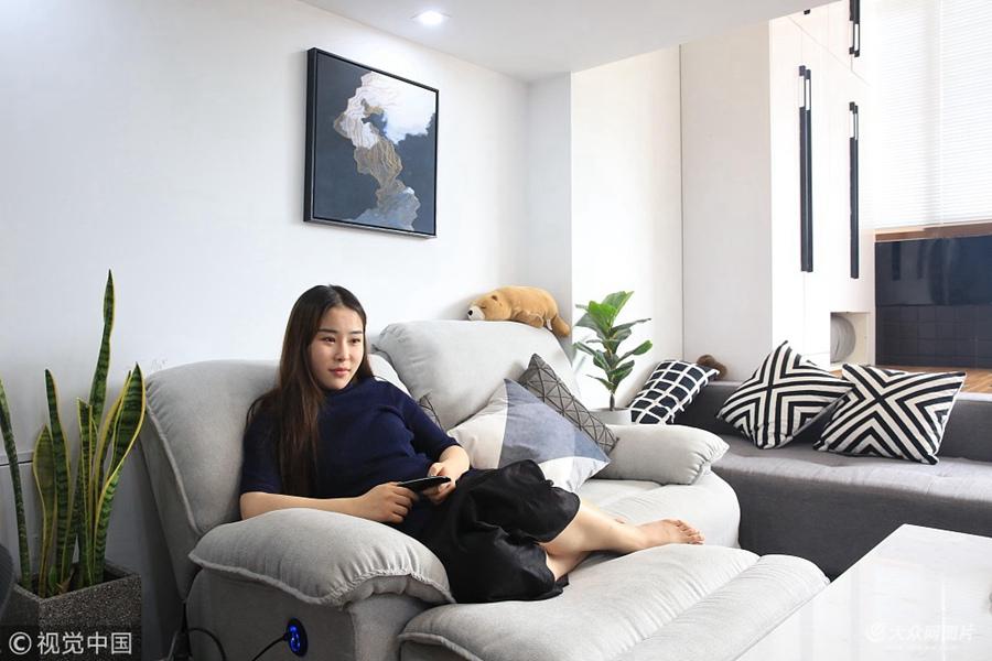 90后杭漂爆改23㎡单身公寓 蜗居变豪宅实现大学梦想