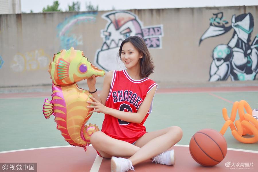 毕业季:篮球少女校园写真致敬青春