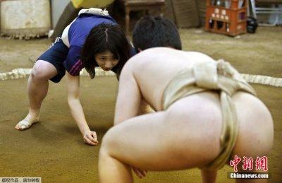 日本女性相扑选手