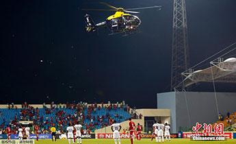 2015非洲杯半决赛爆发球迷骚乱致比赛中断