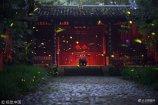 2018年7月8日,夜晚时分,成群的萤火虫在南京紫金山灵谷寺公园的树林中飞舞,星星点点的亮光宛如夜空中的繁星,仿佛成了一个奇幻的精灵世界。